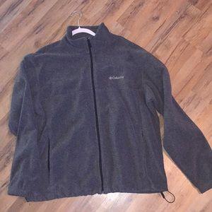 Columbia full zip fleece XL
